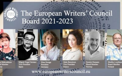 The European Writers' Council Annual General assembly 2021 was successfully held online – New board elected.
