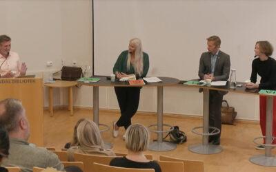 Boklov og språkpolitikk i Arendalsdebatt