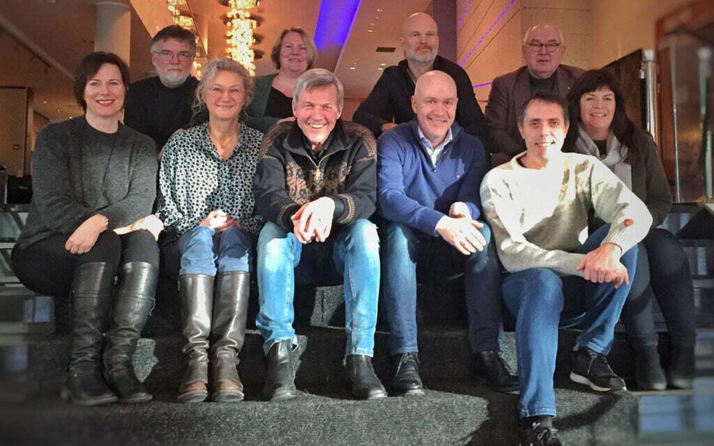 Forfatterforbundet ble formelt stiftet 28. januar 2018 av 12 av de 16 forfatterne i interimstyret.